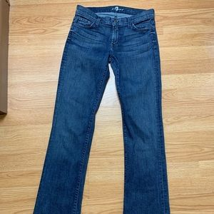7 For All Mankind blue jeans 👖 Fabulous ☺️